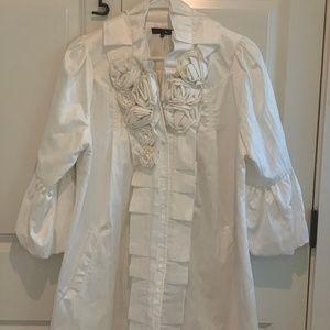 Ryu Women's White Dress Jacket